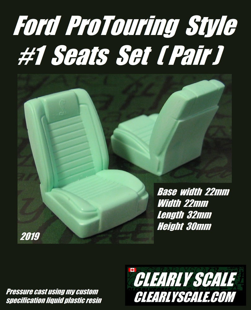 Image of Ford ProTouring Style #1 Seats Set