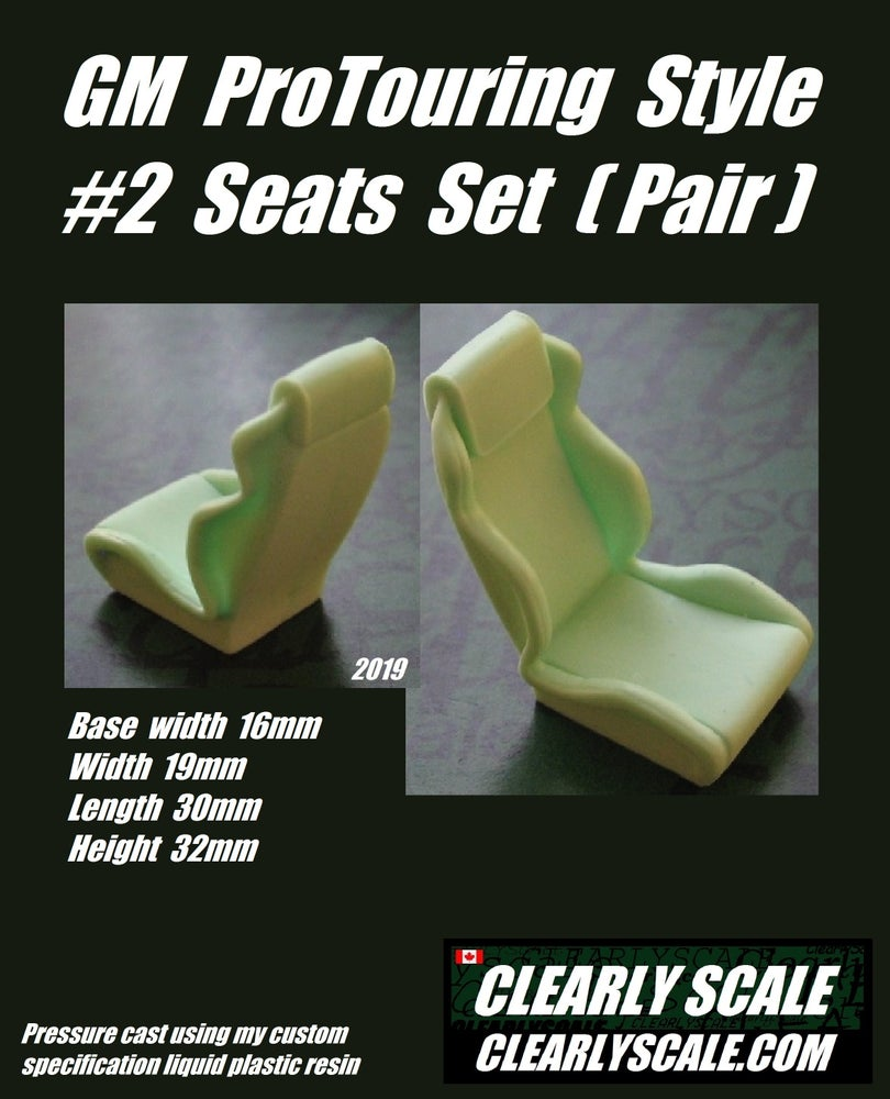 Image of GM #2 ProTouring Style Seat