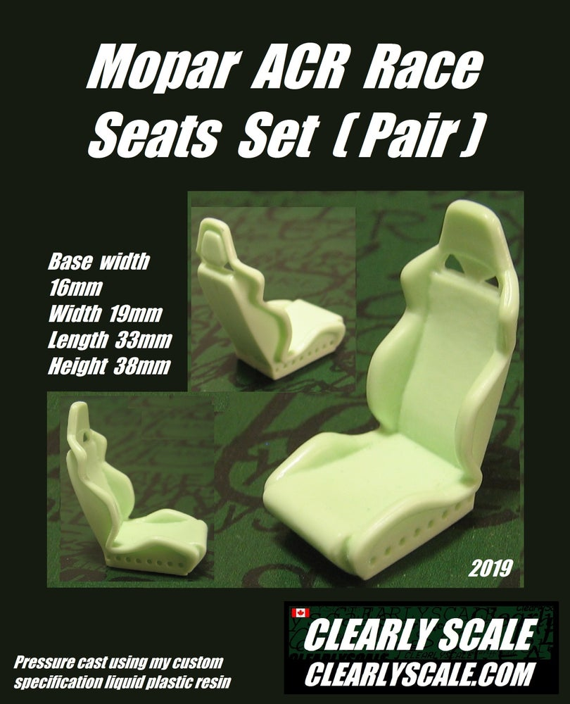 Image of Mopar ACR Race Seat Set