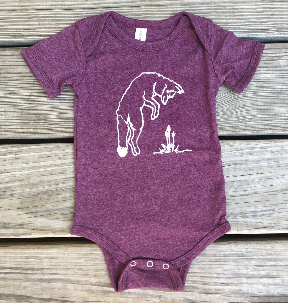 Image of Jumping Fox Onesie - Owlet Collection
