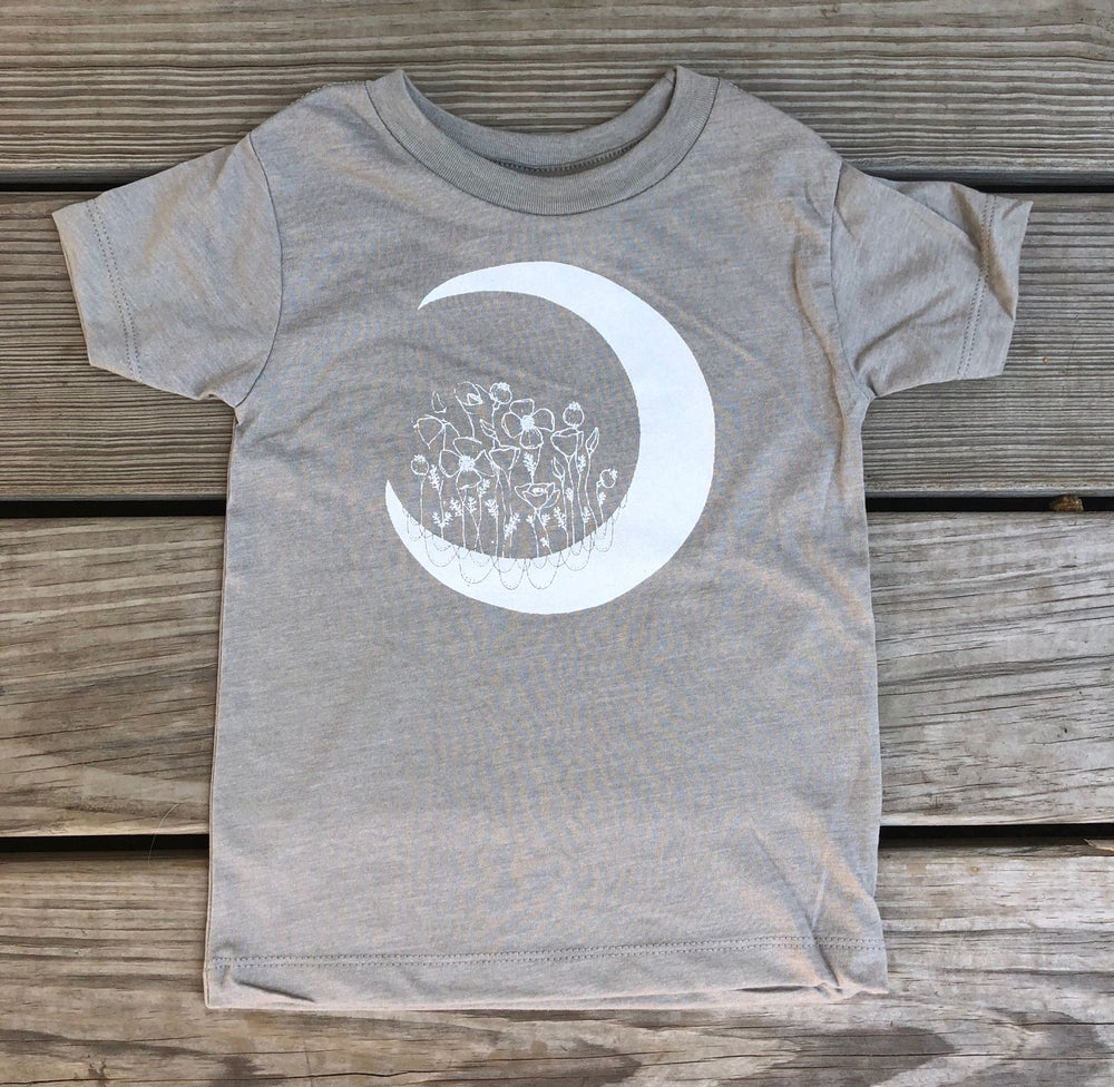 Image of Poppy Moon toddler tee - Owlet Collection