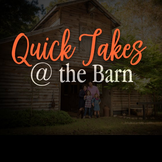 Image of Quick Takes @ The Barn