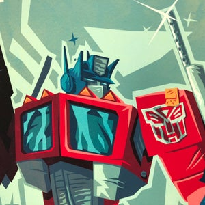 """Image of """"One Shall Stand"""" Transformers Tribute Prints"""