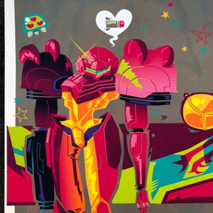 "Image of ""Dressed to Kill"" Metroid Tribute Prints"