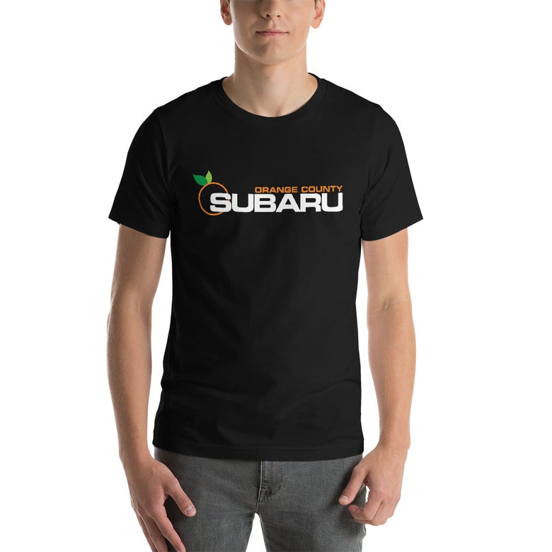 Image of Black OC Subaru T-Shirt