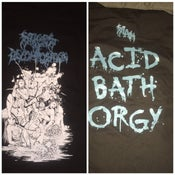 "Image of Stages of Decomposition ""Acid Bath Orgy"" shirt"