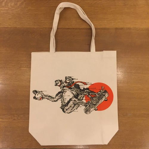 Image of GANJI FROGGY SK8 TOTE BAG