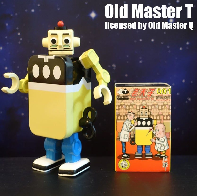 Image of OLD MASTER T OFFICIALLY LICENSED BY OLD MASTER Q -  TC-011