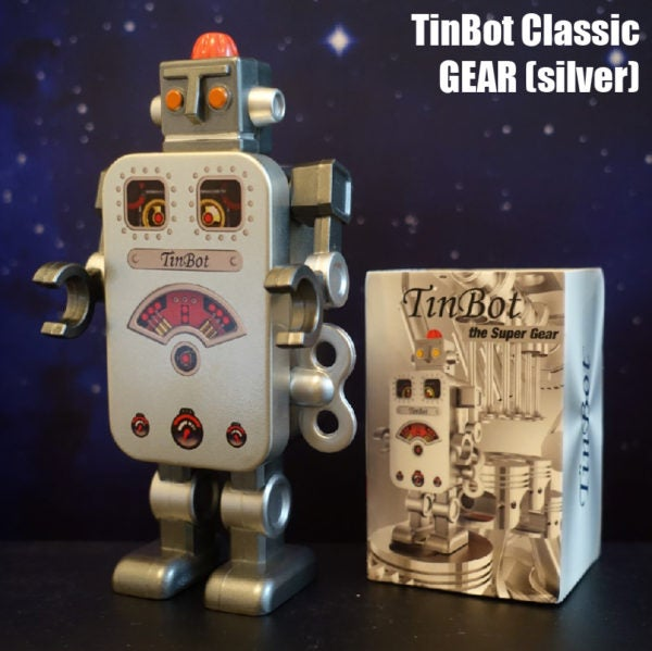 Image of TINBOT THE GEAR