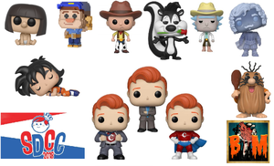Image of SDCC 2018 Exclusive Pop Vinyls