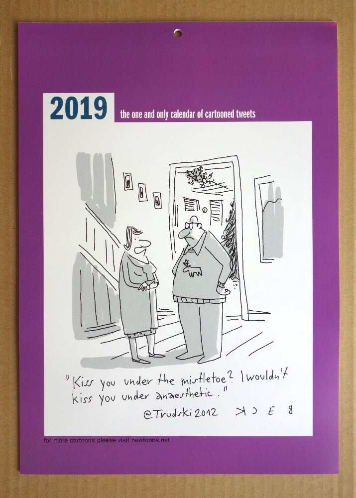Image of 2019 Calendar of Cartooned Tweets