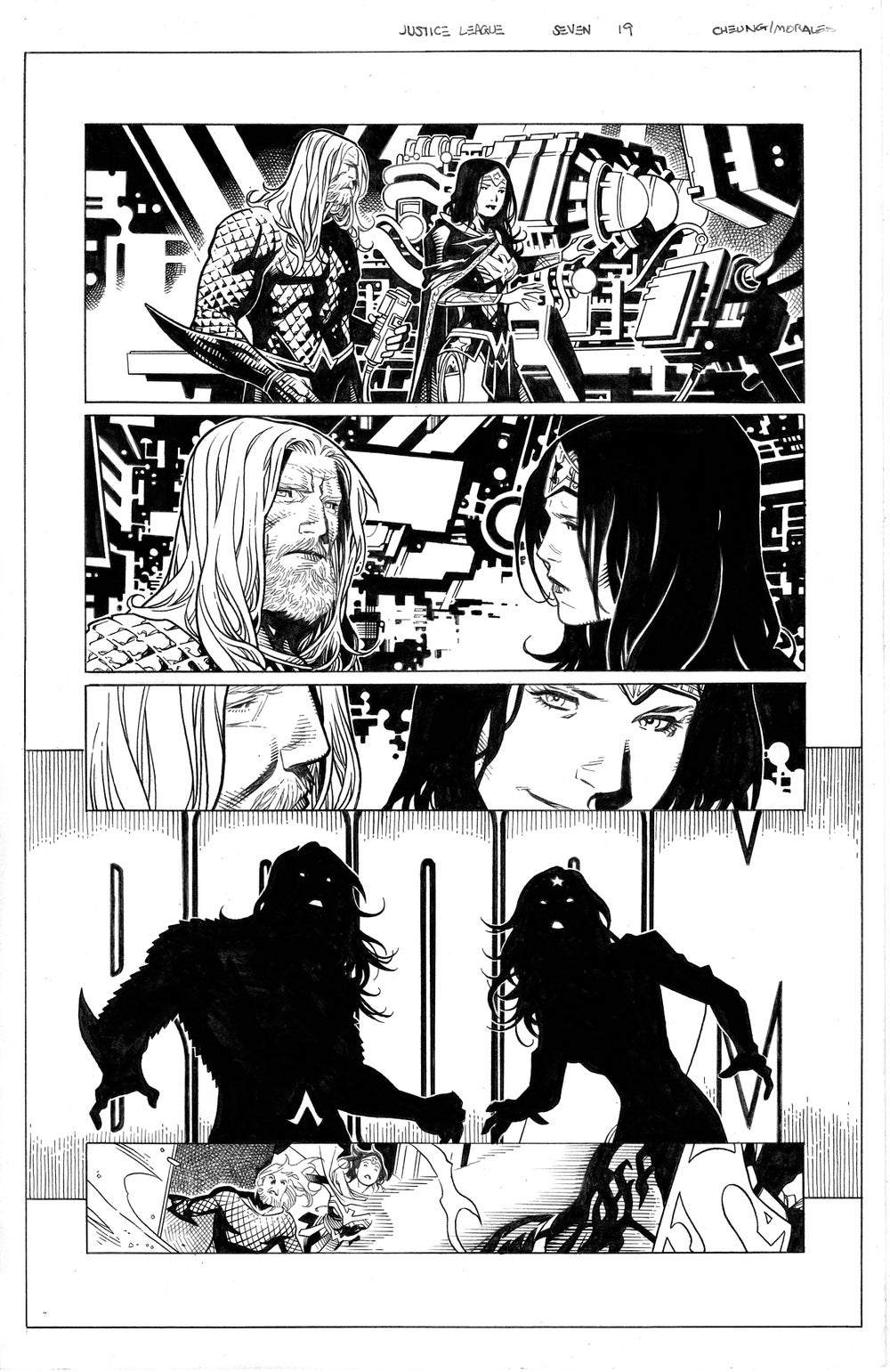 Image of JUSTICE LEAGUE #7 Page 19