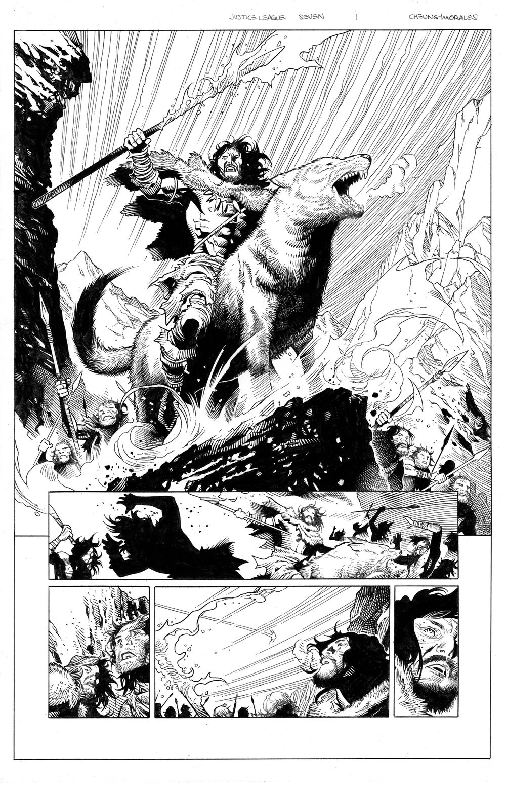 Image of JUSTICE LEAGUE #7 Page 01