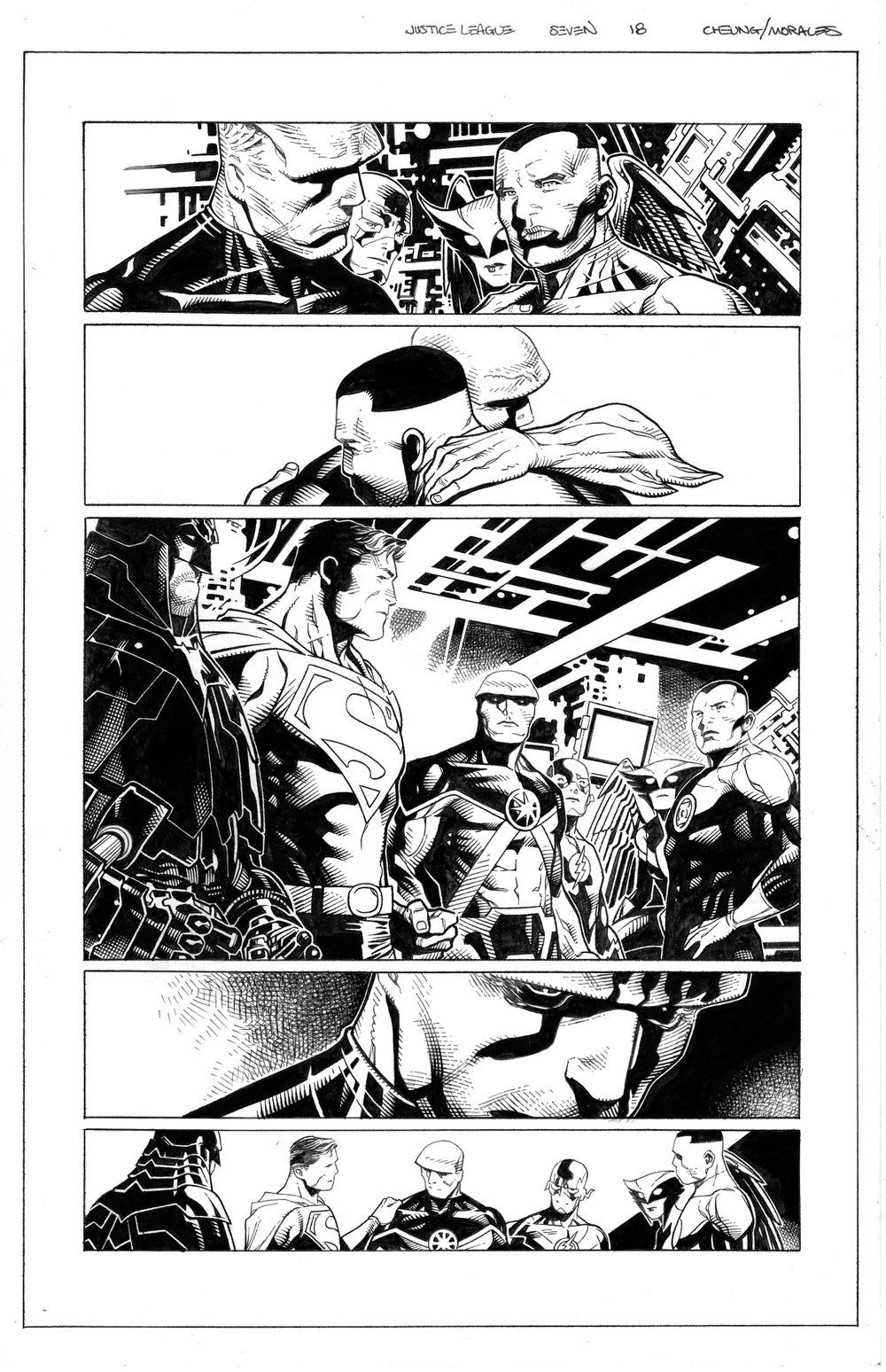 Image of JUSTICE LEAGUE #7 Page 18