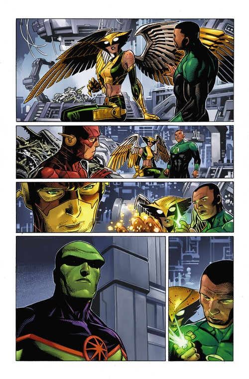 Image of JUSTICE LEAGUE #7 Page 17
