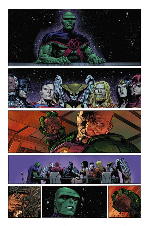 Image of JUSTICE LEAGUE #1 Page 19
