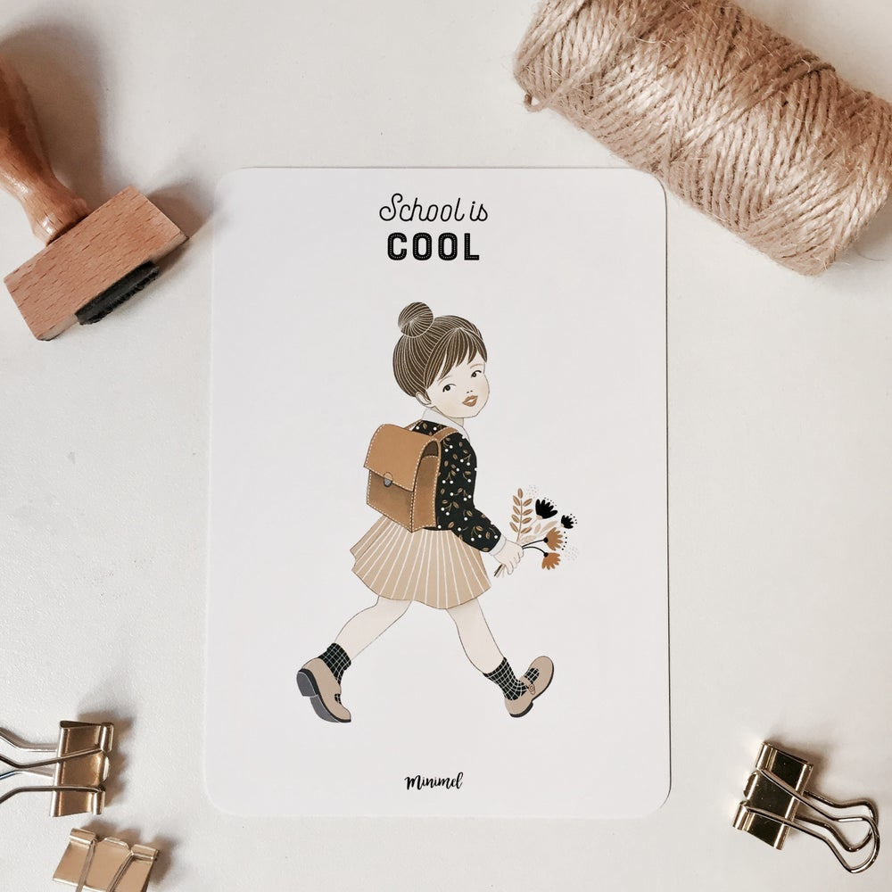 "Image of Carte ""School is Cool"""