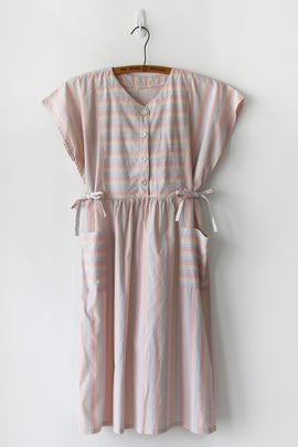 Image of SOLD Pastel Paddlepop Side Tie Dress