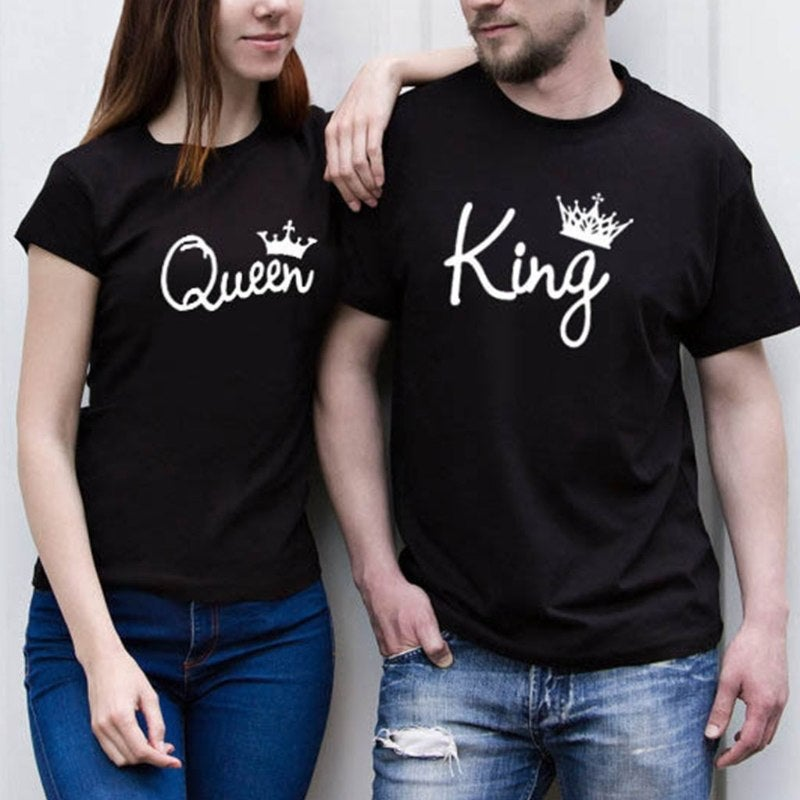 Image of KING AND QUEEN - T-SHIRT