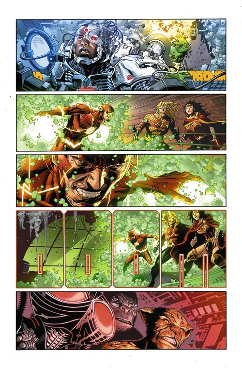 Image of JUSTICE LEAGUE #7 Page 07