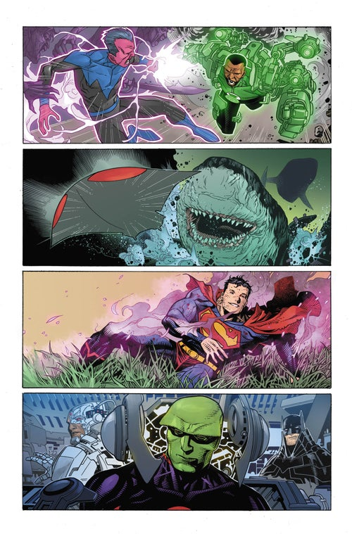 Image of JUSTICE LEAGUE #7 Page 14