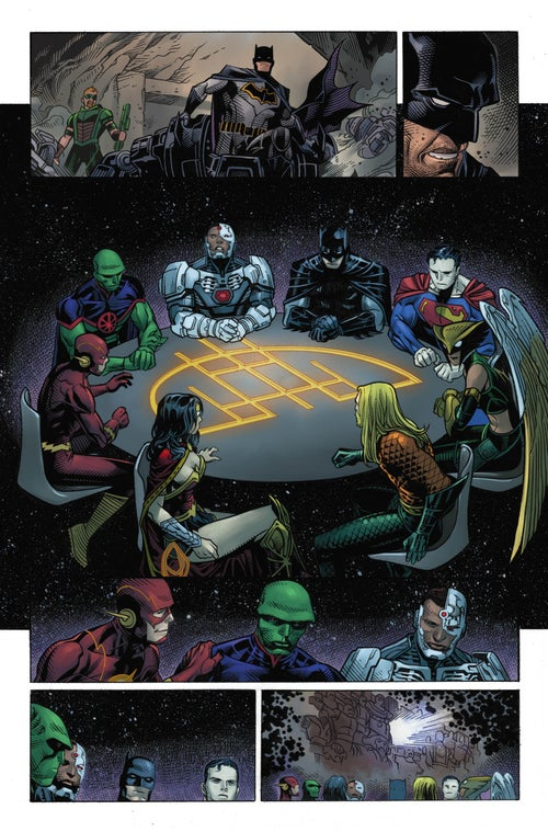 Image of JUSTICE LEAGUE #1 Page 12