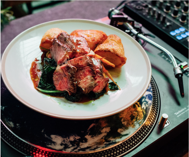 Image of Roast & Records for Four People