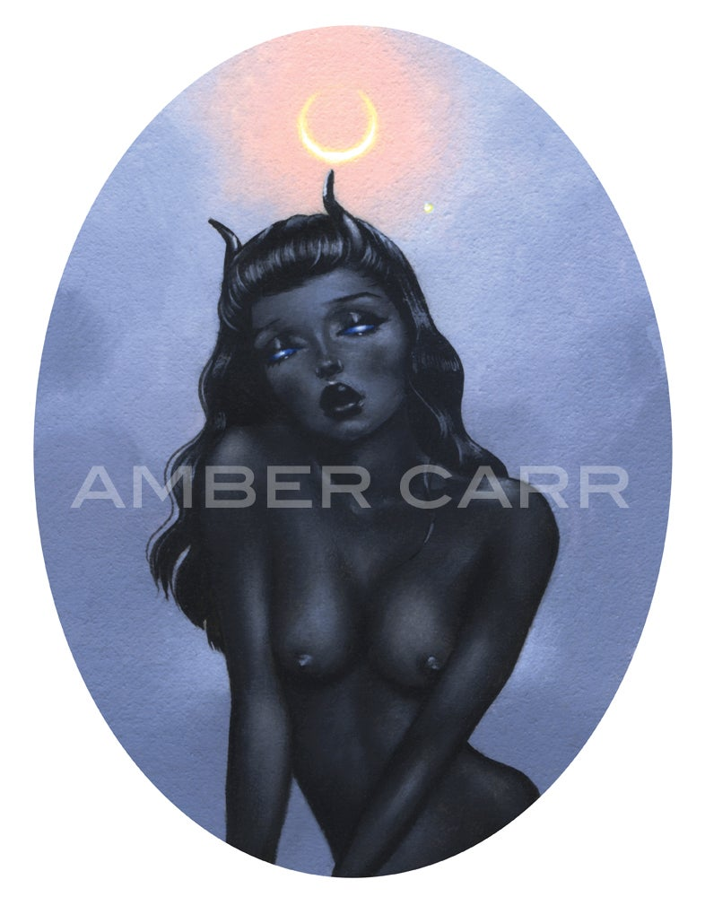 "Image of ""New Moon"" 11"" x 14"" Print"
