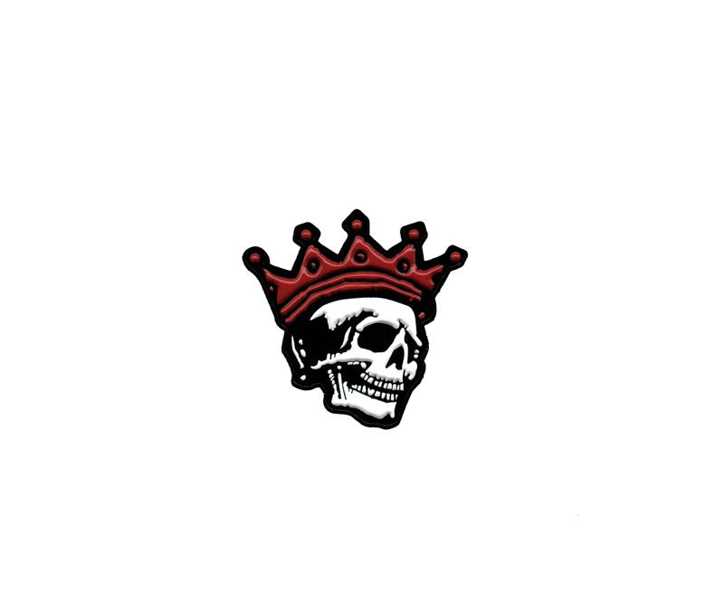 """Image of Crimson King 1 1/2"""" Enamel Pin  - Series One"""