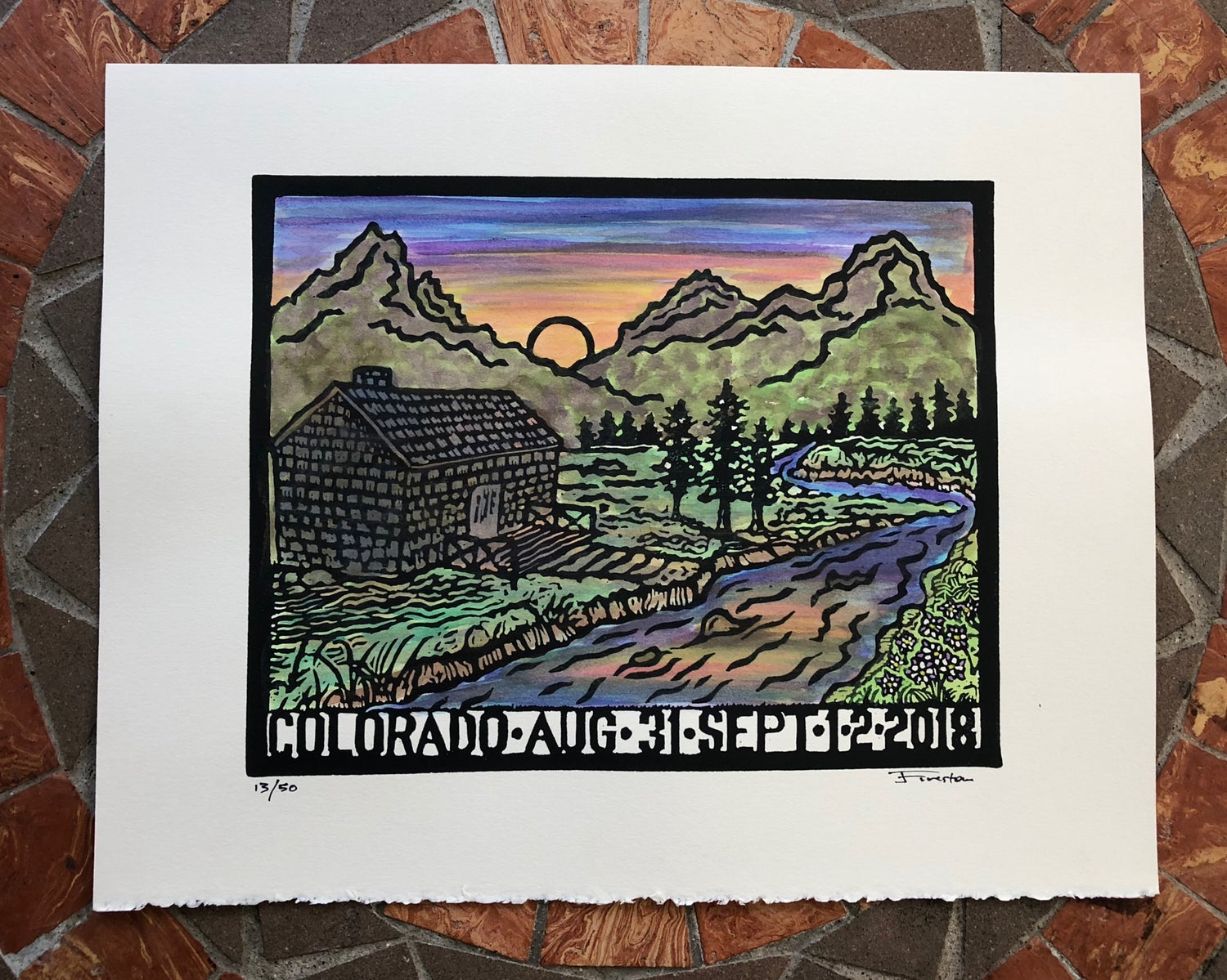 Image of Colorado prints