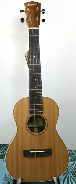 Image of Pono Solid Cedar & Acacia Tenor Model ATD-CR