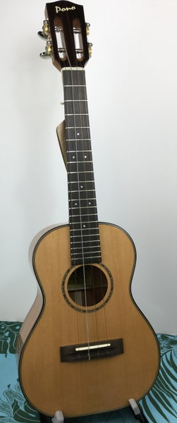 Image of Pono Pro Classic Solid Cedar & Mahogany Tenor Model MTSH (C) PC