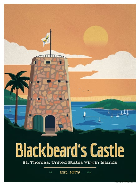Image of Blackbeard's Castle Poster