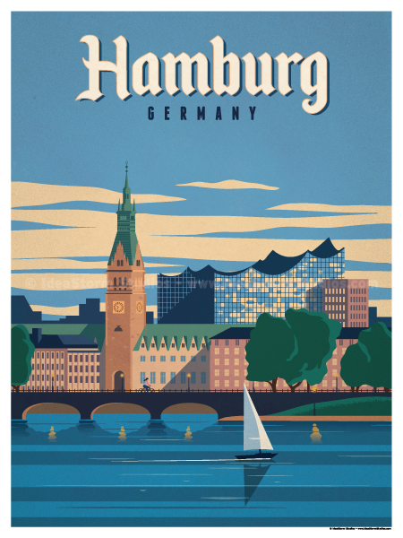 Image of Hamburg Poster