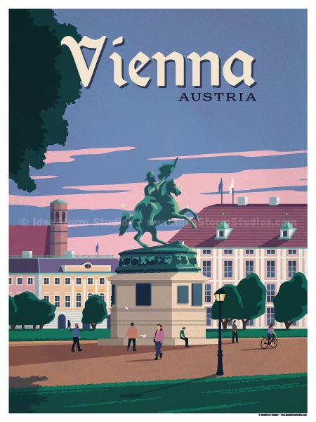 Image of Vienna Poster