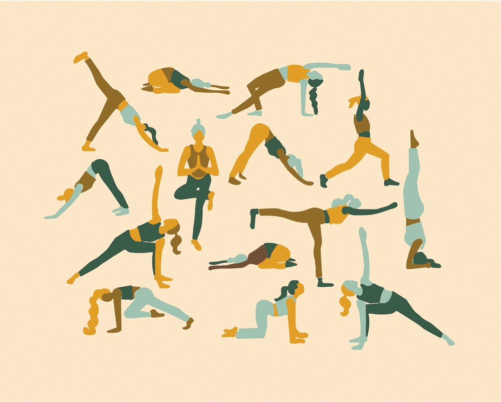 Image of YOGA PRINT