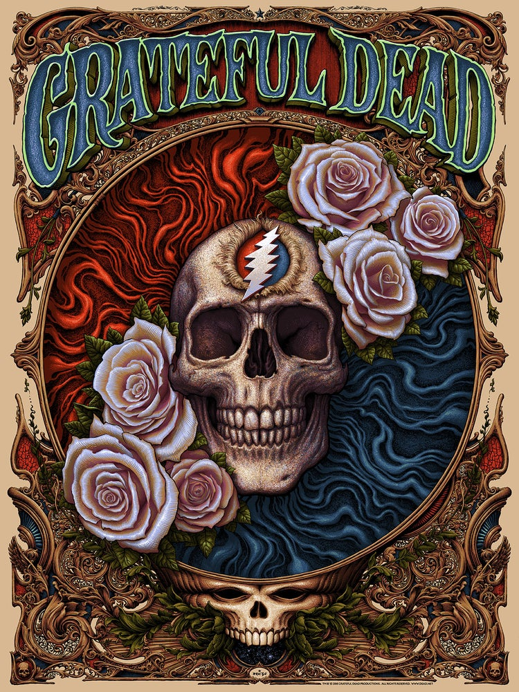 "Image of ""Grateful Dead"" Screenprint"