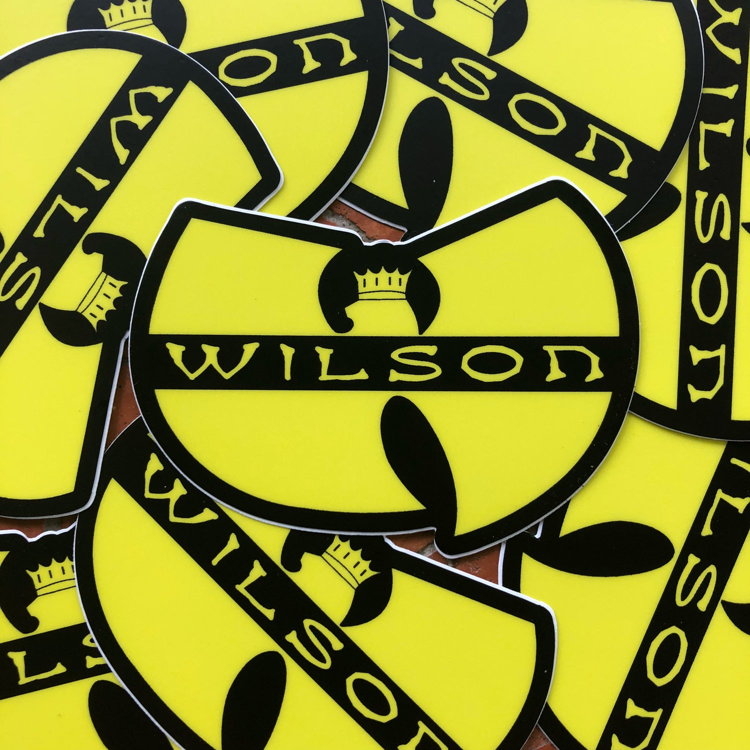 Image of Wilson/Wu-Tang stickers