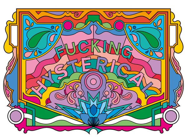Image of Fucking Hysterical, 208 A3 Print
