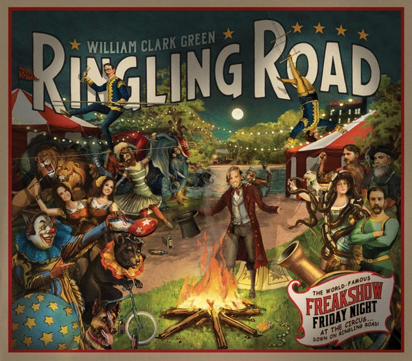Image of Ringling Road - Red Vinyl (Limited Edition Print)