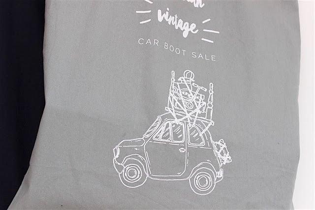 Image of Grey Tote Bag