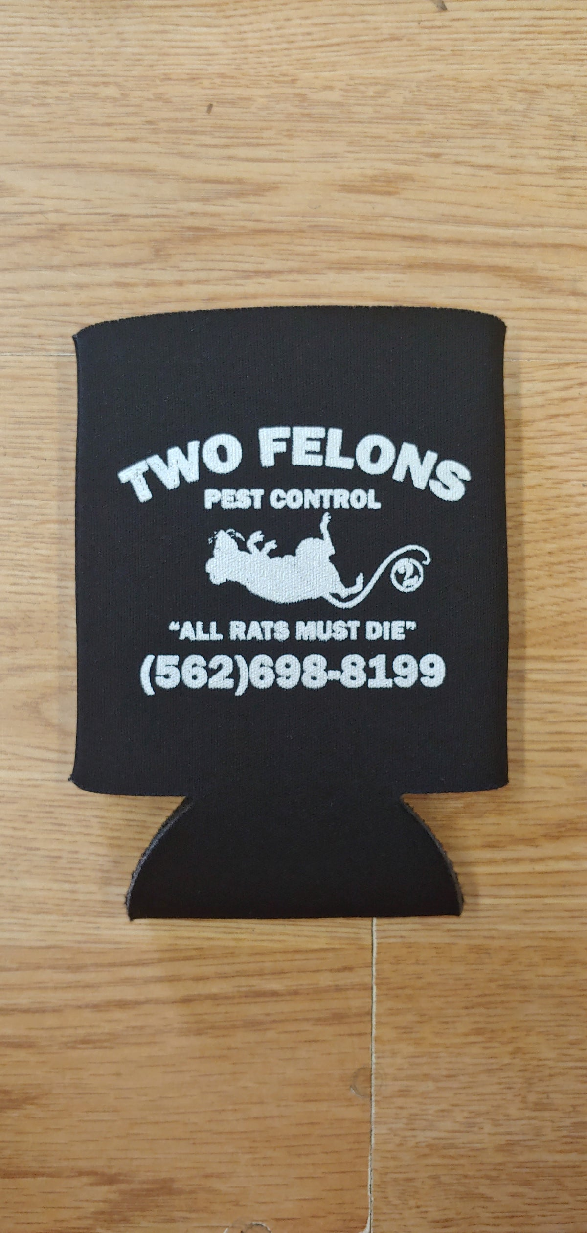 Two Felons Pest Control can coolers