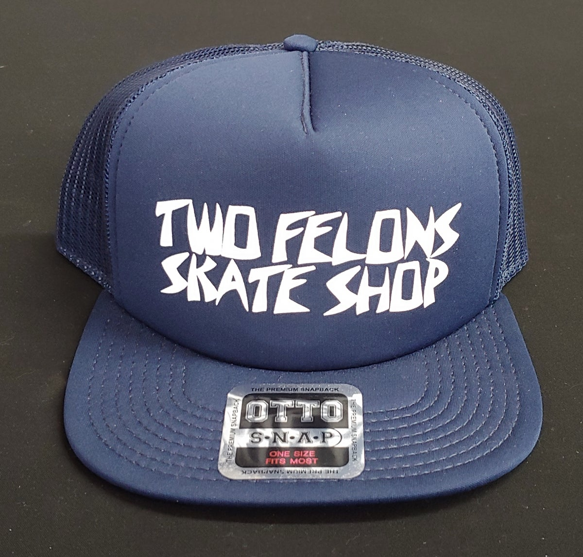 "Two Felons ""Killer"" trucker (navy)"