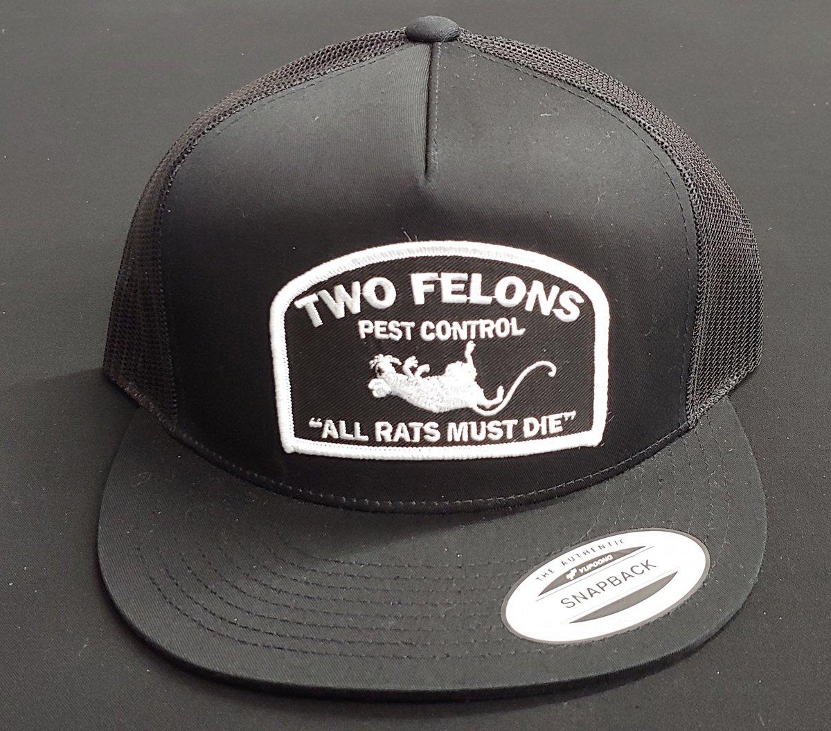 """Two Felons """"Pest Control"""" V1 (black)"""