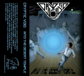 "Image of CRYPTIC VOID ""Into The Desert Temple"" cassette"