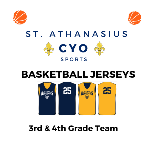Image of 3rd & 4th Grade Basketball Jersey Order