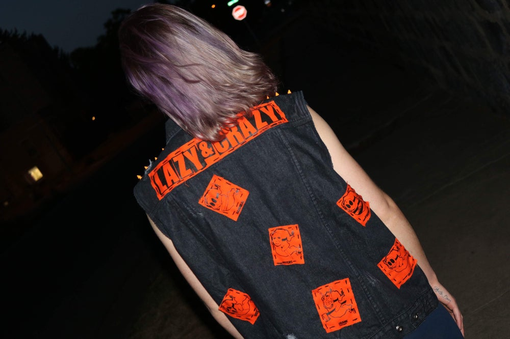 Image of LARGE 1/1 HALLOWICCED VEST!