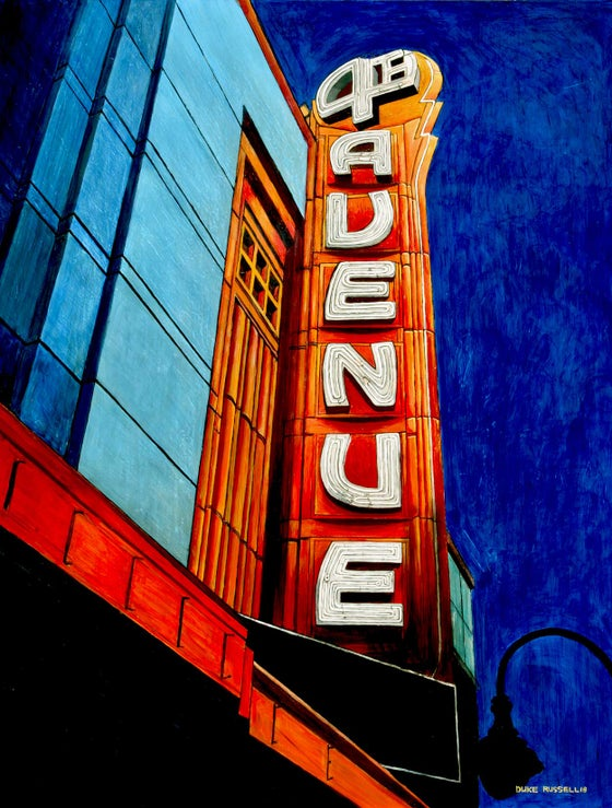 Image of 4th Avenue Theater Print