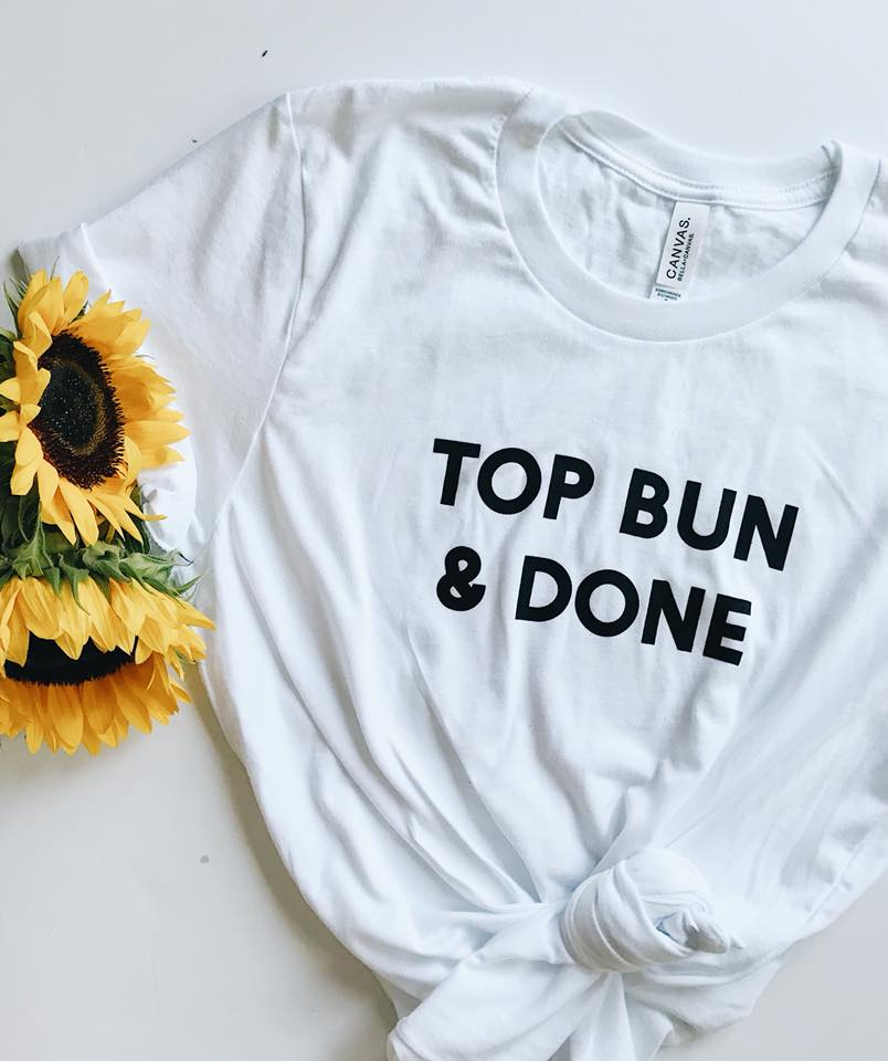 Image of Top Bun & Done Shirt - White