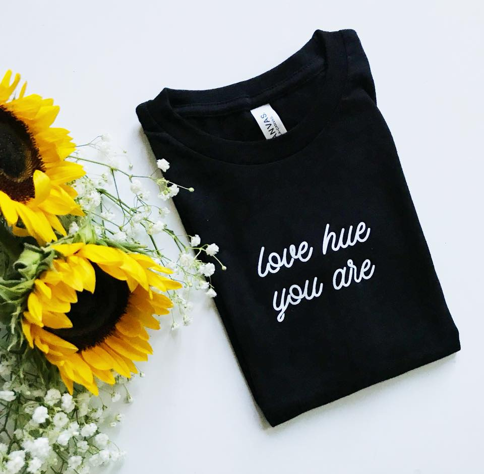 Image of Love Hue You Are Shirt - Black